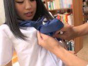 Lustful Japanese teen girl enjoys hardcore pussy fucking
