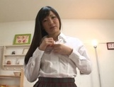 Tasty dick for perky tits Japanese college chick picture 14