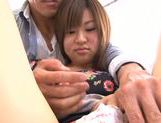 Young Ayumi Mochizuki recives hard pounding action picture 14