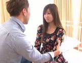 Young Ayumi Mochizuki recives hard pounding action