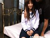 Mischievous Asian schoolgirl get her anal fingered and pussy pounded
