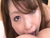 Nanami Hot Asian doll is good at sucking cock