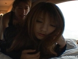 Risa Tsukino Asian schoolgirl is a lovely teen who likes sex picture 13
