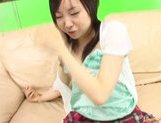 Sumire Kanno Lovely Asian teen gets her pussy spread wide