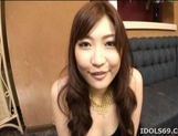 Karin Kusunoki Lovely Asian doll gives an excellent blow job