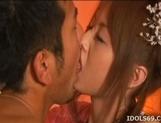 Akiho Yoshizawa Lovely Asian babe has a nice set of tits and a nice ass