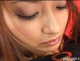 Nao Yoshizaki Pretty Asian model enjoys showing off her perfect ass