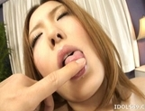 Riana Natsukawa Big boobed Asian maid gets a fucking