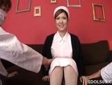 Riana Natsukawa Horny Asian nurse who likes getting a hard fucking