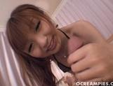 Kotone Aisaki Hot Asian model enjoys sucking cock