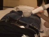 Gorgeous Japanese maid makes toy insertion and sucks rod on pov picture 51