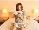 Seri Mikami Naughty Asian model has very talented feet