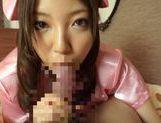 Sexy teen Saito Ookura loves to deep suck picture 15