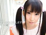 Pigtailed teen Yuuki Itano enjoying a tasty pov oral picture 14