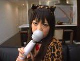 Teen Ai Hoshimiya loves masturbating and sucking