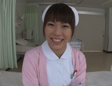Caramel nurse Haruna Ikoma has steamy sex with her patient picture 11