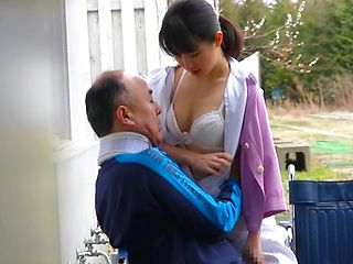 Japanese sex outside