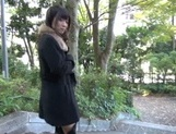 Outdoor blowjob with steamy hardcore Hibiki Ohtsuki picture 11