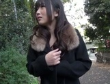 Outdoor blowjob with steamy hardcore Hibiki Ohtsuki picture 15