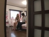 Gorgeous Japanese milf Karen Uehara is a passionate cock lover picture 13