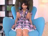 Innocent teen babe Yuuki Itano enjoys pussy fondling picture 11