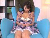 Innocent teen babe Yuuki Itano enjoys pussy fondling picture 15