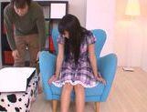 Innocent teen babe Yuuki Itano enjoys pussy fondling