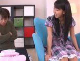 Innocent teen babe Yuuki Itano enjoys pussy fondling picture 7