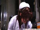 Horny nurses Riho Yu and Natsuki share cock and expose anal for sex picture 12