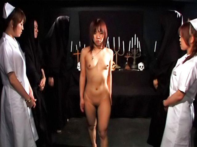 Horny Asian sex models Riho Yu and Natsuki get anal poking and fucking
