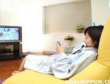 Horny sweetheart Rinako Hirasawa makes pussy and anal plug