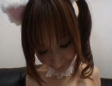 Myu Tsubaki Hot Asian model shows off her party dress picture 12
