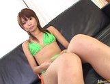 Aoi Amamiya Asian model in lingerie