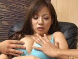 Yuri Nanase gets her hot Asian pussy spread to show it off