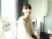 Japanese AV model in her sexy black stockings
