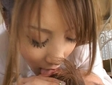 Young Asian model enjoys a hard fucking picture 8
