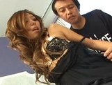 Misa Tsuchiya Naughty Asian model enjoys fucking and sucking cocks picture 13