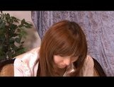 Serina Hayakaw Hot Asian student enjoys masturbation by a friend picture 6