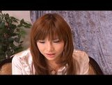 Serina Hayakaw Hot Asian student enjoys masturbation by a friend picture 7