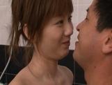 Yuma Asami Sweet Asian model enjoys her bathroom with a friend