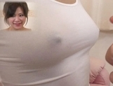 An Mikawa Asian doll gets her tits licked before a fucking picture 13