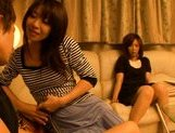 Japanese mature women have a threesome with one guy picture 15