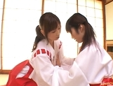 Ai Sayama Hot Asian teen is a juicy lesbian