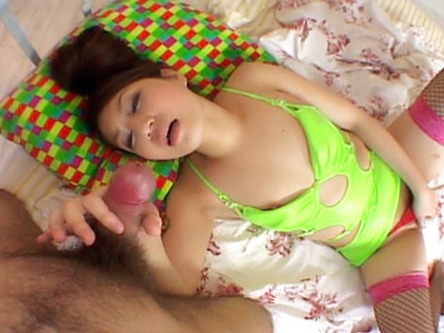 Saori Asian model is sexy and enjoys getting a cock