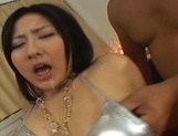 Megumi Haruka Hot Asian model sucks a cock and gets fucked picture 4