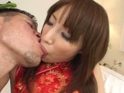 Ayane Asian model enjoys a hard core fucking