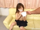 Ami Hyuuga Asian Schoolgirl Enjoys Masturbating Alone picture 7
