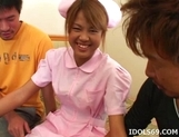 Japanese Sexy Amateur Nurse Exxxtreme Gang Bang