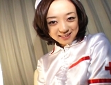 Rina Yuuki Hot Japanese nurse spreads her legs