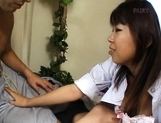 Ryo Hazuki hot Asian nurse likes sex